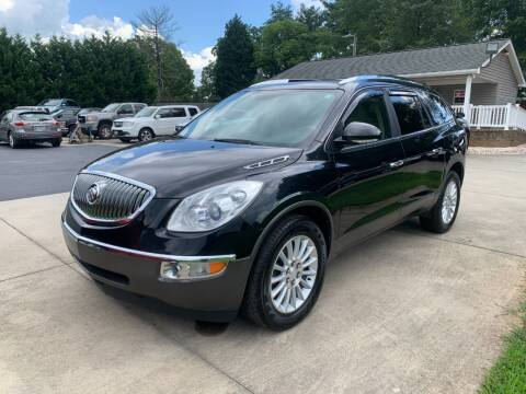 2012 Buick Enclave for sale at Getsinger's Used Cars in Anderson SC