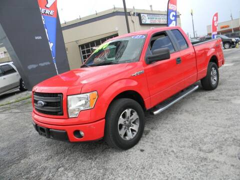 2013 Ford F-150 for sale at Meridian Auto Sales in San Antonio TX