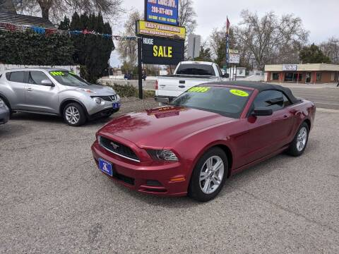 2014 Ford Mustang for sale at Right Choice Auto in Boise ID