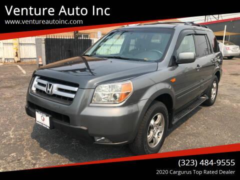 2008 Honda Pilot for sale at Venture Auto Inc in South Gate CA