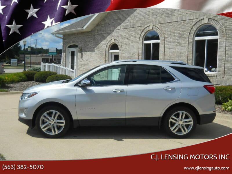 2019 Chevrolet Equinox for sale at C.J. Lensing Motors Inc in Decorah IA