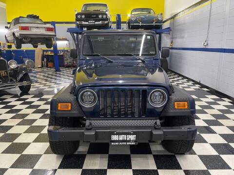 2006 Jeep Wrangler for sale at Euro Auto Sport in Chantilly VA