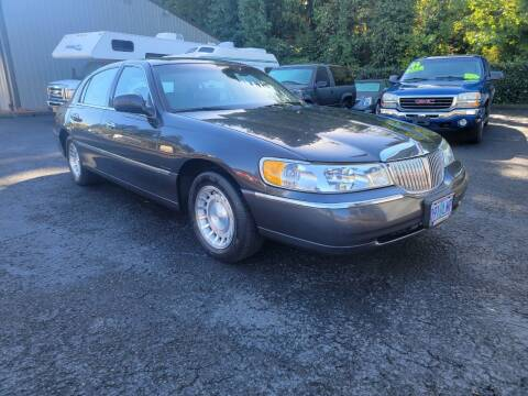 2002 Lincoln Town Car for sale at Blue Lake Auto & RV Repair Inc in Fairview OR