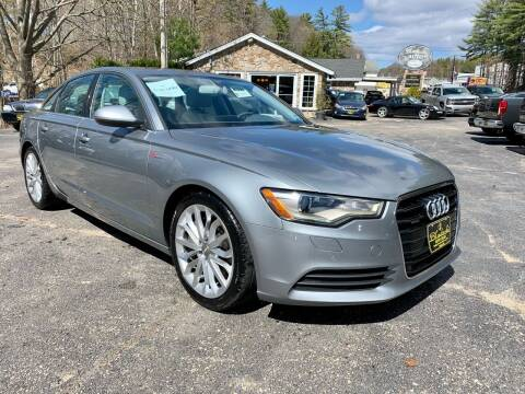 2013 Audi A6 for sale at Bladecki Auto LLC in Belmont NH