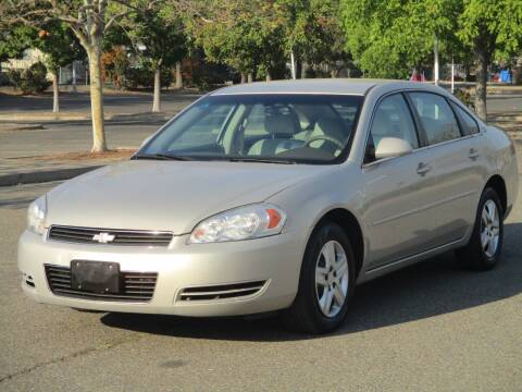 2008 Chevrolet Impala for sale at General Auto Sales Corp in Sacramento CA