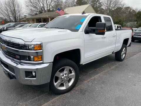 2016 Chevrolet Silverado 2500HD for sale at Lux Auto in Lawrenceville GA
