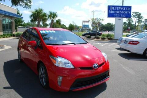 2015 Toyota Prius for sale at BlueWater MotorSports in Wilmington NC
