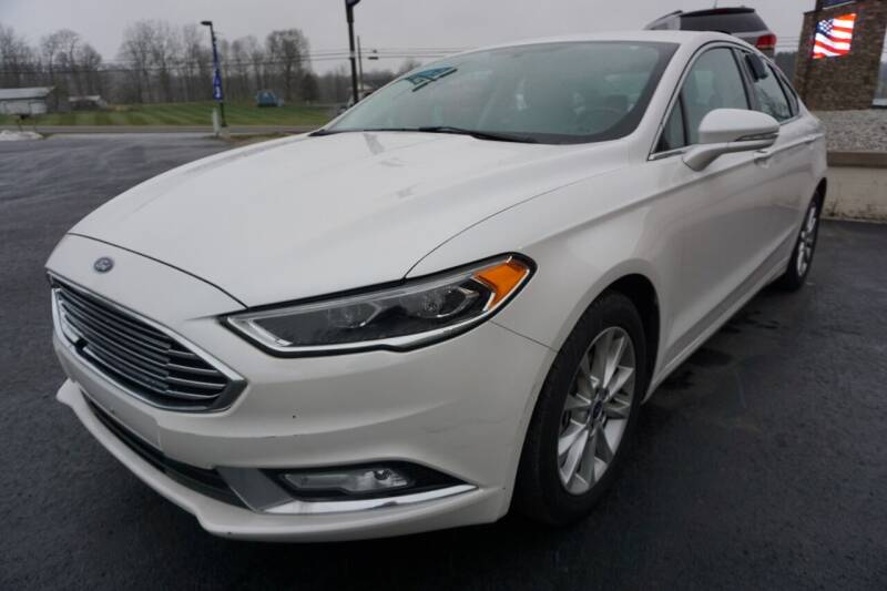 2017 Ford Fusion for sale at MyEzAutoBroker.com in Mount Vernon OH