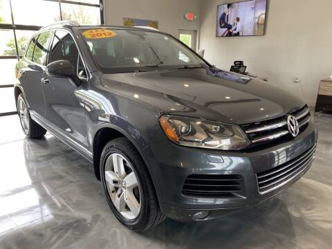 2012 Volkswagen Touareg for sale at Crossroads Car & Truck in Milford OH