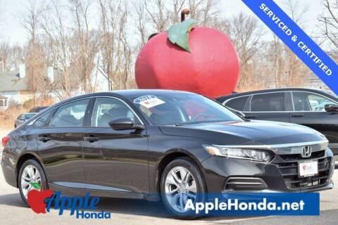 2018 Honda Accord for sale at APPLE HONDA in Riverhead NY