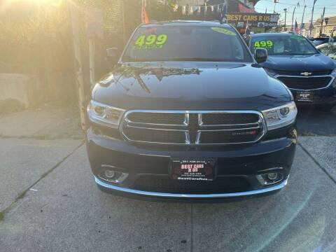 2015 Dodge Durango for sale at Best Cars R Us LLC in Irvington NJ
