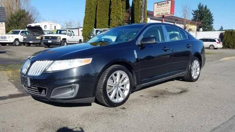 2009 Lincoln MKS for sale at Payless Car & Truck Sales in Mount Vernon WA