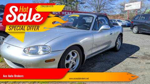 1999 Mazda MX-5 Miata for sale at Ace Auto Brokers in Charlotte NC