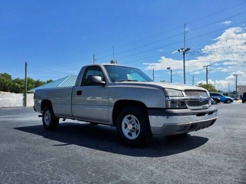 2004 Chevrolet Silverado 1500 for sale at Select Autos Inc in Fort Pierce FL