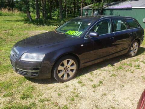 2006 Audi A6 for sale at Northwoods Auto & Truck Sales in Machesney Park IL