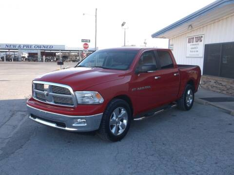 2012 RAM Ram Pickup 1500 for sale at AUTO TOPIC in Gainesville TX