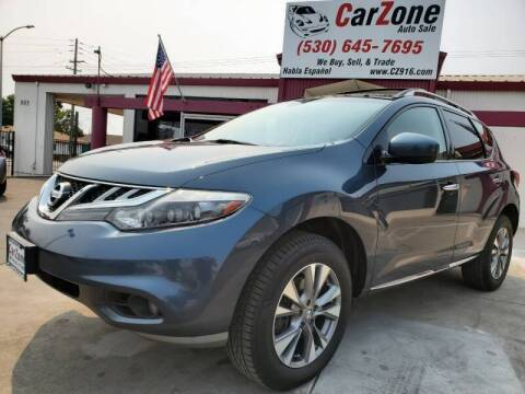 2011 Nissan Murano for sale at CarZone in Marysville CA