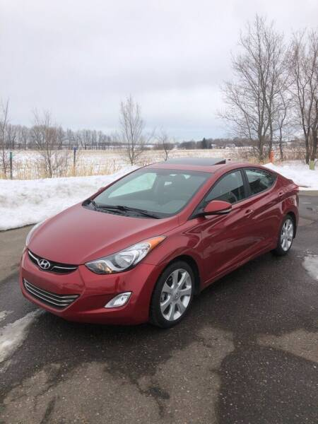 2013 Hyundai Elantra for sale at Prime Auto Sales in Rogers MN