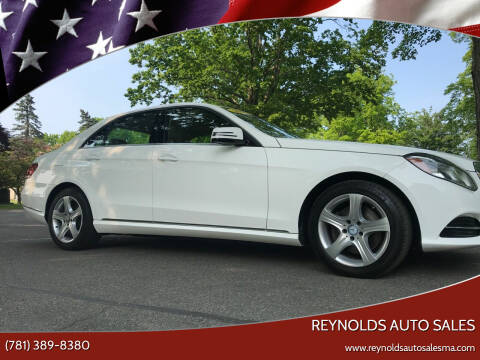 2014 Mercedes-Benz E-Class for sale at Reynolds Auto Sales in Wakefield MA