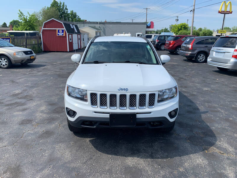 2014 Jeep Compass for sale at L.A. Automotive Sales in Lackawanna NY