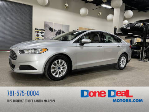2016 Ford Fusion for sale at DONE DEAL MOTORS in Canton MA