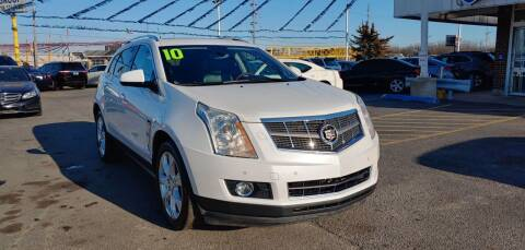 2010 Cadillac SRX for sale at I-80 Auto Sales in Hazel Crest IL