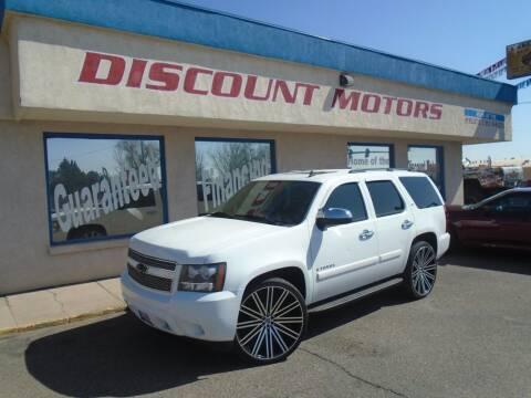 2008 Chevrolet Tahoe for sale at Discount Motors in Pueblo CO