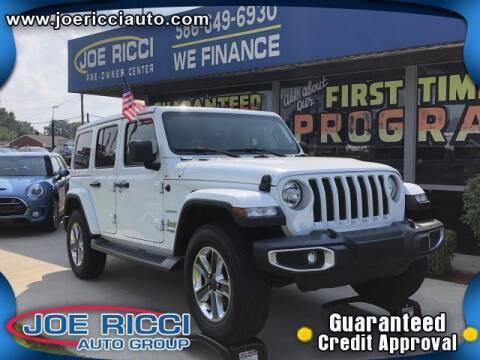 2020 Jeep Wrangler Unlimited for sale at JOE RICCI AUTOMOTIVE in Clinton Township MI