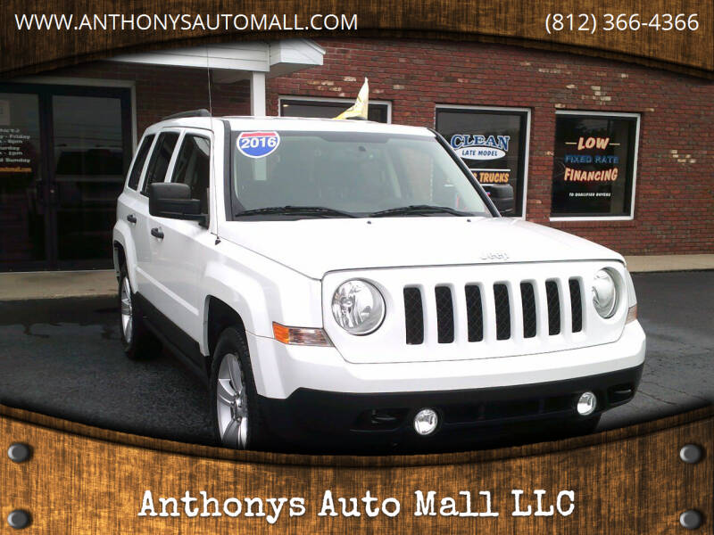 2016 Jeep Patriot for sale at Anthonys Auto Mall LLC in New Salisbury IN