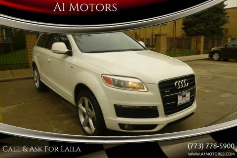 2009 Audi Q7 for sale at A1 Motors Inc in Chicago IL