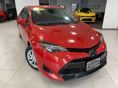 2018 Toyota Corolla for sale at Auto Mall of Springfield in Springfield IL