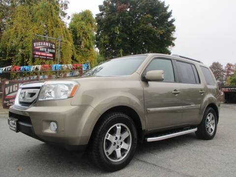 2009 Honda Pilot for sale at Vigeants Auto Sales Inc in Lowell MA