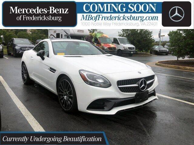 2018 Mercedes-Benz SLC for sale in Fredericksburg, VA