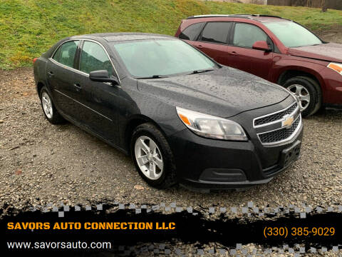 2013 Chevrolet Malibu for sale at SAVORS AUTO CONNECTION LLC in East Liverpool OH