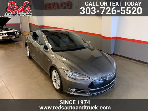 2015 Tesla Model S for sale at Red's Auto and Truck in Longmont CO
