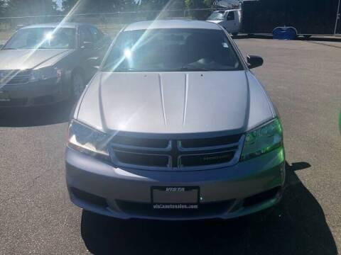 2013 Dodge Avenger for sale at TacomaAutoLoans.com in Lakewood WA