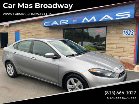 2015 Dodge Dart for sale at Car Mas Broadway in Crest Hill IL