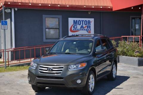 2012 Hyundai Santa Fe for sale at Motor Car Concepts II - Kirkman Location in Orlando FL