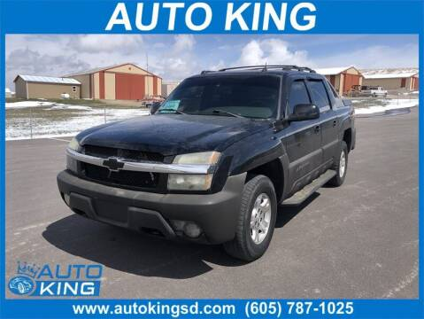 2004 Chevrolet Avalanche for sale at Auto King in Rapid City SD