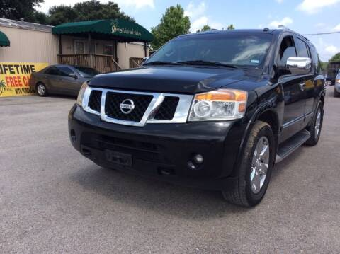 2014 Nissan Armada for sale at OASIS PARK & SELL in Spring TX
