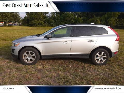2010 Volvo XC60 for sale at East Coast Auto Sales llc in Virginia Beach VA