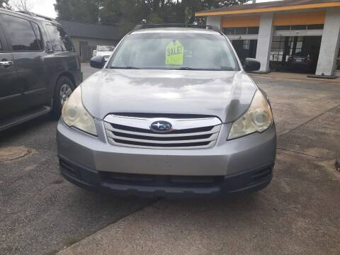 2011 Subaru Outback for sale at PIRATE AUTO SALES in Greenville NC