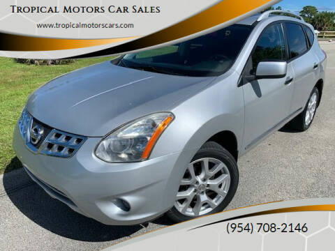 2011 Nissan Rogue for sale at Tropical Motors Car Sales in Deerfield Beach FL