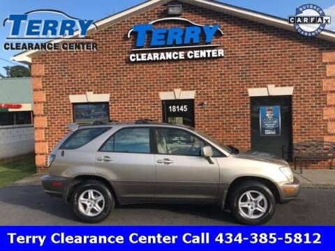 2002 Lexus RX 300 for sale at Terry Clearance Center in Lynchburg VA