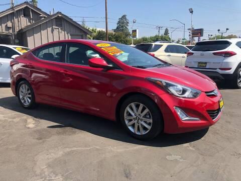 2015 Hyundai Elantra for sale at Devine Auto Sales in Modesto CA