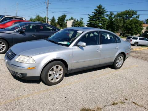 2001 Volkswagen Passat for sale at Sportscar Group INC in Moraine OH
