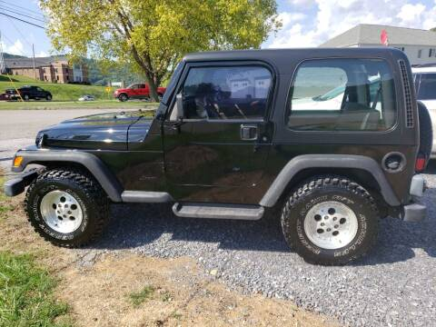 1999 Jeep Wrangler for sale at Firehouse Motors LLC in Bristol TN