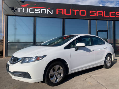 2015 Honda Civic for sale at Tucson Auto Sales in Tucson AZ