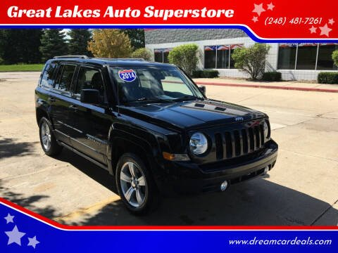 2014 Jeep Patriot for sale at Great Lakes Auto Superstore in Pontiac MI