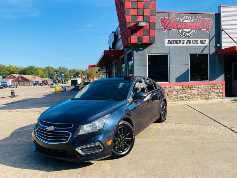 2015 Chevrolet Cruze for sale at Chema's Autos & Tires in Tyler TX